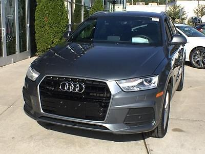 2016 Audi Q3 Premium Plus Sport Utility 4-Door 2016 Audi Q3 Premium Plus Fully Loaded Leather Navigation Back Up Cam