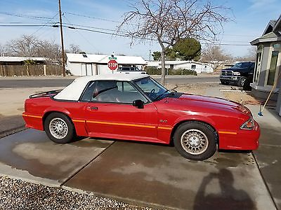 1988 Ford Mustang GT 1988 Ford Mustang GT Convertible