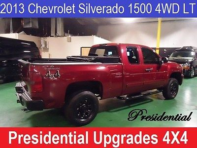 2013 Chevrolet Silverado 1500 LT Ext. Cab Long Box 4WD Presidential Maroon Chevrolet Silverado 1500 with 75,000 Miles available now!