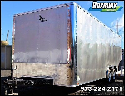 2017 8.5x22 Lark United Enclosed Cargo Trailer ELECTRIC, CABINETS, TILE FLOOR