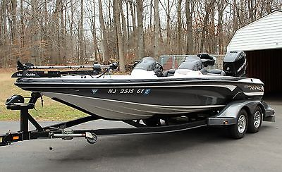 ~ 2005 NITRO 929 CDX BASS BOAT W/ 250 VERADO (low hours) GARAGE KEPT ~
