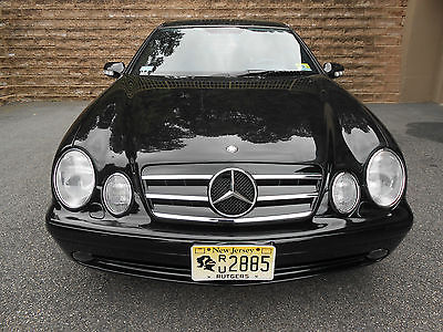 2001 Mercedes-Benz CLK-Class Black Burled Wood with Leather MERCEDES BENZ CLK 55 AMG
