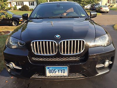 2012 BMW X6 Sport package 2012 BMWX6 xDrive50i one owner BMW Dealer Maintained Sapphire Black Saddle Int.