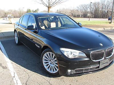 2012 BMW 7-Series BMW 750I XDRIVE 2012 BMW 750i XDRIVE  PACKAGE (WARRANTY )/AUDI A8 MERCEDES S550