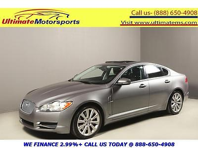 2010 Jaguar XF Premium Luxury Sedan 4-Door 2010 JAGUAR XF PREMIUM NAV SUNROOF LEATHER BLIND HEAT/COOL SEATS GREY