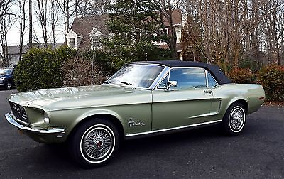 1968 Ford Mustang S-Code 1968 Ford Mustang S-Code 390 Convertible