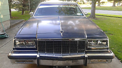 1982 Buick Electra Chrome 1982 Buick Electra Park Avenue Two Door Coupe'- (Relisted due to a defective ad)