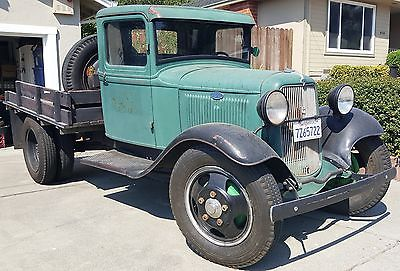 1934 Ford Other Pickups Flatbed Ford 1934 Model BB