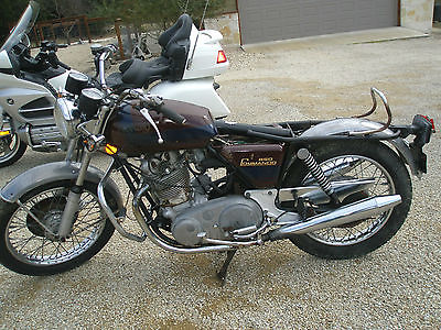 1973 Norton Commando  1973 Norton 850 Commando Low Miles - All Original - Barn Fresh with Title