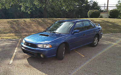 1999 Subaru Legacy 30th Anniversary Edition ubaru Legacy 1999 SUS AWD Rally Blue 2.5L 4 Cylinder EJ25 Very Good Condition