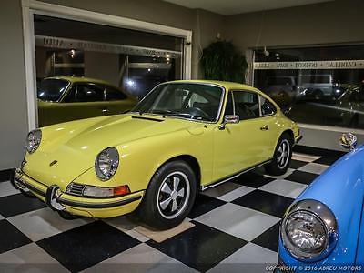 1972 Porsche 911 Matching Numbers