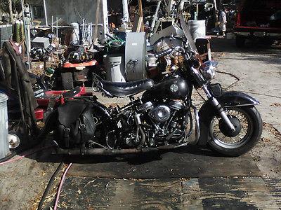 1958 Harley-Davidson Other  1958 FL Panhead