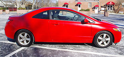 2008 Honda Civic EX 2008 Honda Civic Coupe EX Red 2 door excellent condition
