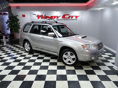2007 Subaru Forester AWD 4dr H4 Turbo Automatic XT Ltd 07 Subaru Forester XT Limitied Turbo AWD 1 Owner Htd Leather Rust Free & CLEAN!