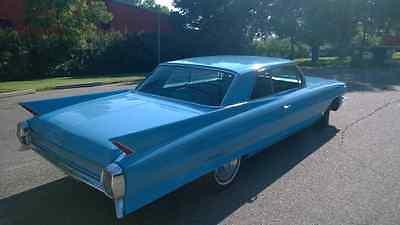 1962 Cadillac DeVille  1962 Cadillac Coupe Deville