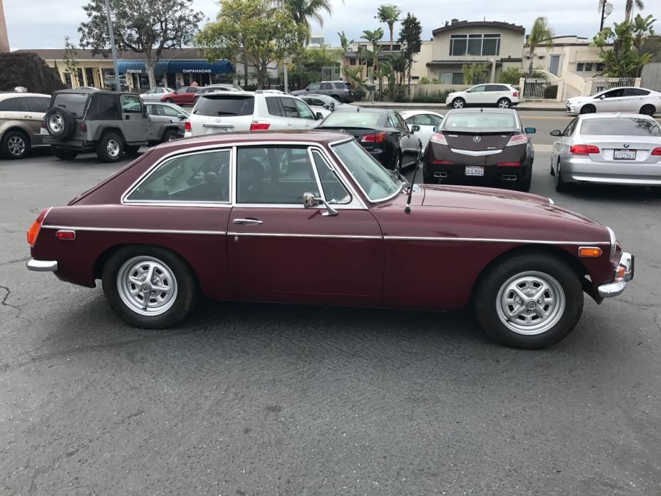 1973 MG MGB GT ONE OWNER! 69k MILES. ALL ORIGINAL SOLID SURVIVOR MG IN GREAT SHAPE
