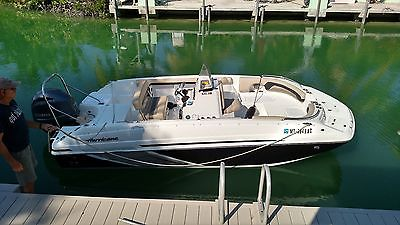 2016 Hurricane Deckboat with150 Yamaha four stroke and Trailer