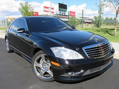 2007 Mercedes-Benz S-Class S550 4dr Sedan 2007 Mercedes S-Class S550 AMG Sport, 5.5L V8, Chrome Wheels P1, P2, Distronic