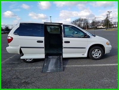 2002 Dodge Grand Caravan SE VAN WHEELCHAIR HANDICAP POWER RAMP VMI SLICE RAMP  2002 Used 3.3L V6