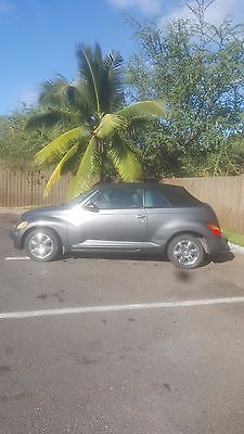 2005 Chrysler PT Cruiser  2005 Pt Cruiser Convertible Touring Edition Turbo 65,000 miles Automatic Clean