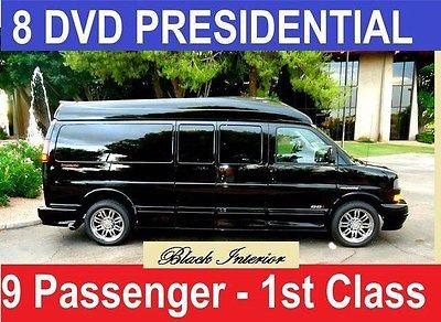 2016 GMC 9 Passenger Conversion Van Presidential Se 2016 GMC 9 Passenger Conversion Van, Black with 10 Miles available now!