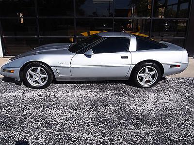 1996 Chevrolet Corvette Black 1996 Collector Edition Corvette