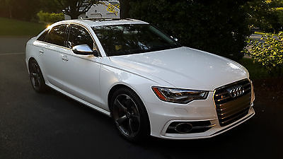 2013 Audi S6 Prestige Ibis white, low mileage (18,xxx), garage kept and dealer serviced