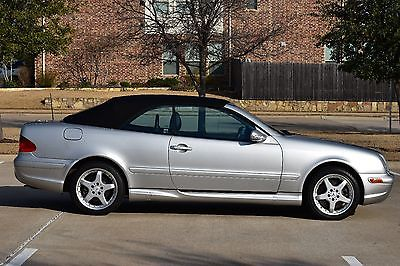 2002 Mercedes-Benz CLK-Class CLK55 AMG 2002 Mercedes Benz CLK55 AMG Cabriolet Convertible 44,000 miles lowest in U.S.!!
