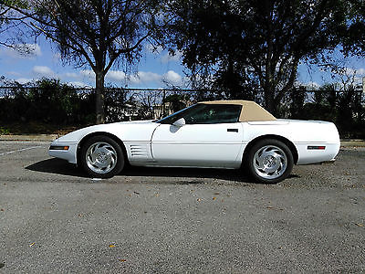 1994 Chevrolet Corvette CONV. 1994 CHEVROLET CORVETTE CONV. 6-SPEED MANUAL 44,000 ORIGINAL MILES