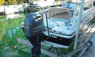 2016 Hurricane Deckboat with150 Yamaha four stroke and Trailer, 2
