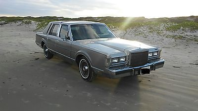 1988 Lincoln Town Car Cartier Lincoln towncar