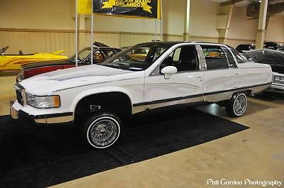 1993 Cadillac Brougham 1993 Cadillac Brougham Lowrider Hydraulics Chrome Undercarriage Stamped Daytons