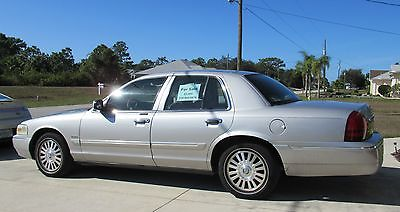 2006 Mercury Grand Marquis 4 door, silver 2006 Grand Marquis LX in very good condition