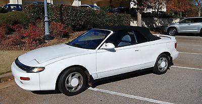 1991 Toyota Celica  1991 Toyota Celica GT Convertible 2-Door 2.2L