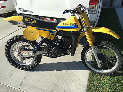 1980 Suzuki RM  1980 Suzuki RM400
