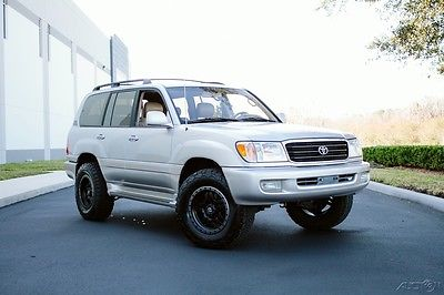 2000 Toyota Land Cruiser UZJ100 LAND CRUISER OUTSTANDING OLD EMU BFG FUEL UZJ100 LAND CRUISER OUTSTANDING OLD EMU LIFT FUEL ANZA BFG NO RUST LANDCRUISER