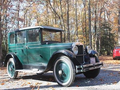 1925 Nash Ajax -- 1925 Nash Ajax 7,587 Miles Mallard Green 4 door 170 Cu-IN I6 Manual