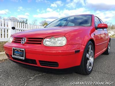 2001 Volkswagen GTI GLS 1.8T -- 2001 Volkswagen GTI GLS 1.8T  100757 Miles Flash Red  1L TC I4 double overhead c