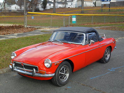 1973 MG MGB 1973 LOW MILE MGB CONV. NEW PARTS, NEW PAINT,ROOF AND INTERIOR!