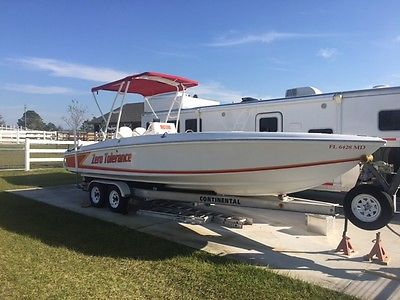 2003 High Performance 28 ft Zero Tolerance Center Console Boat-Groveland FL
