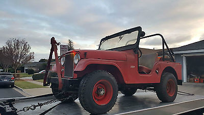 1959 Willys Jeep CJ5  1959 Willy's Jeep CJ5 All Original Barn Find  Same owner since 1960  Estate Sale