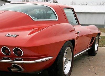 1967 Chevrolet Corvette FACTORY AC 1967 CORVETTE COUPE 59K ACTUAL MILES 2 OWNER FACTORY AIR CONDITION FULL DOCS