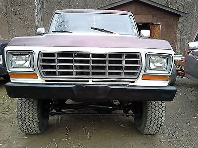 1978 Ford F-150 1978 FORD F-150 4X4 V-8 FOUR SPEED