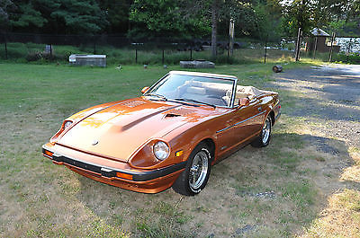 1982 Datsun Z-Series Convertible Conversion 1982 Datsun 280ZX Z-Spyder Convertible Conversion
