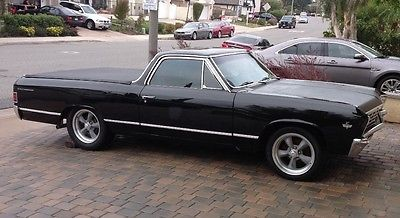 1967 Chevrolet El Camino Custom RARE '67 L79 327 325HP El Camino, Factory A/C, Matching # Block, 12 Bolt Rear