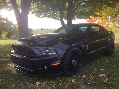 2010 Ford Mustang Shelby GT500 Coupe 2-Door 2010 Shelby Cobra GT 500 (750HP)