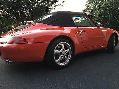 1995 Porsche 911 1995 Porsche 911 convertible
