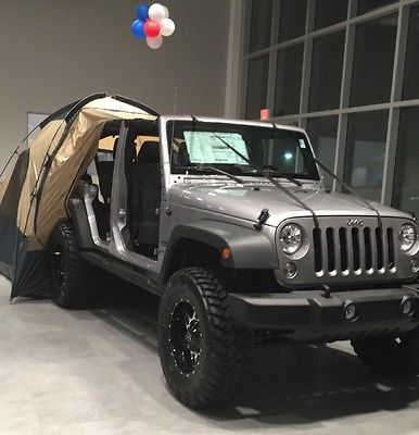 2016 Jeep Wrangler Jeep 2016 Wrangler Unlimited Sport 4x4 Lift Kit Camping Tent Included