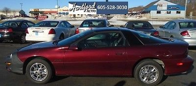 2002 Chevrolet Camaro  2002 Chevrolet Camaro Z28 BURGANDY, 6-Speed, Leather **** New Years Special ****