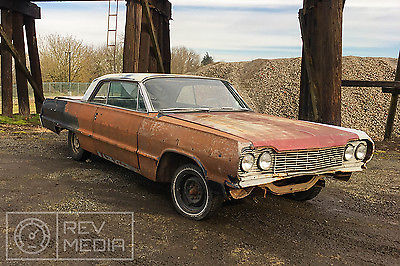 1964 Chevrolet Impala 2dr 1964 Chevy Impala 2 Door Rolling Project